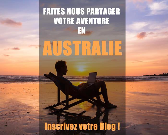 Ajoutez votre blog sur l'Australie !