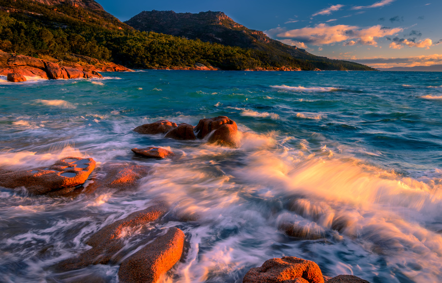 Freycinet National Park : Honeymoon Bay