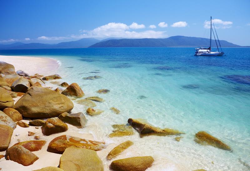Nudey Beach, Fitzroy island - Tropical North Queensland