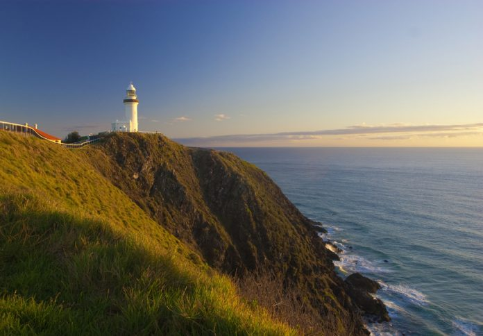 Le point le plus à l'est de l'Australie, le phare de Byron Bay