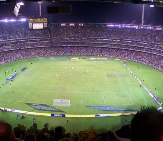 Match au Melbourne Cricket Ground,
