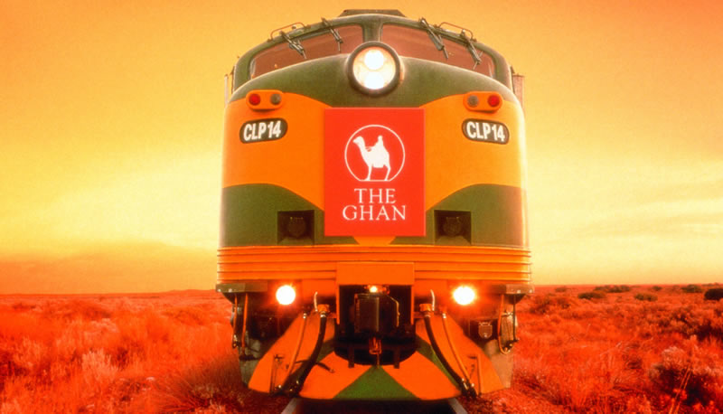 Le train mythique the Ghan