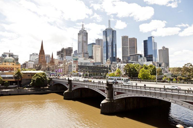 Le Central Business District de Melbourne