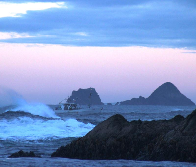 Au petit matin sur la mer de Tasmanie