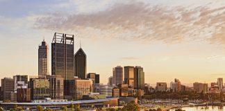 Perth, capitale de Western Australia