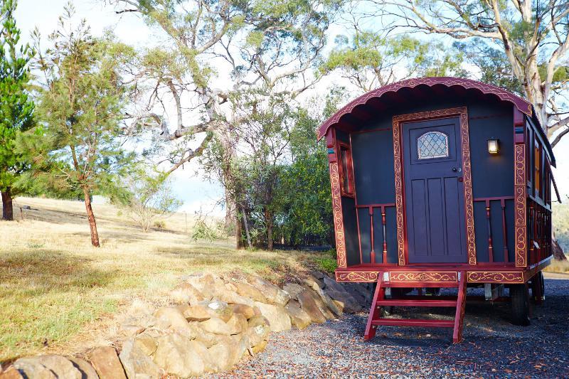 Une roulotte de gitans en Tasmanie !