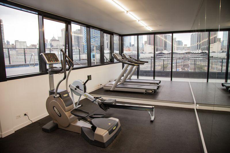 Certaines entreprises offre une salle de gym à leurs salariés