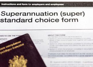 Formulaire de demande de superannuation