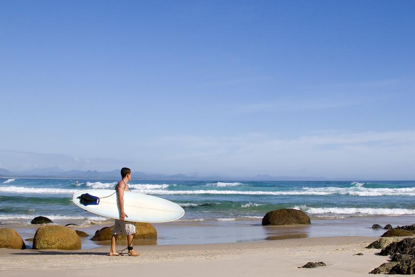 La petite ville est connue de tous les surfeurs d'Australie
