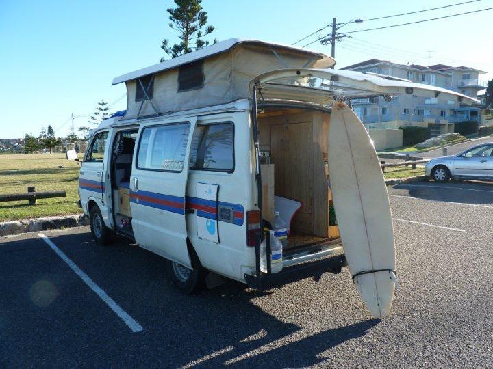 En Van en Australie