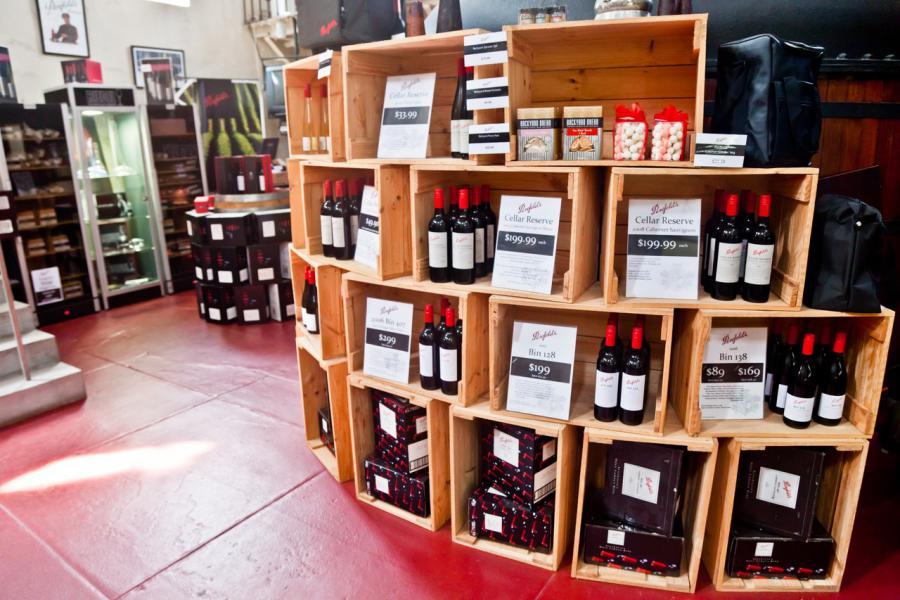 Les vins australiens ont une réputation qui a un prix !