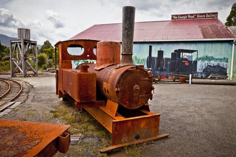 Wee Georgie Wood Steam Railway, Tasmanie