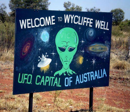 Wyclifffe capitale australienne des ovni (UFO)