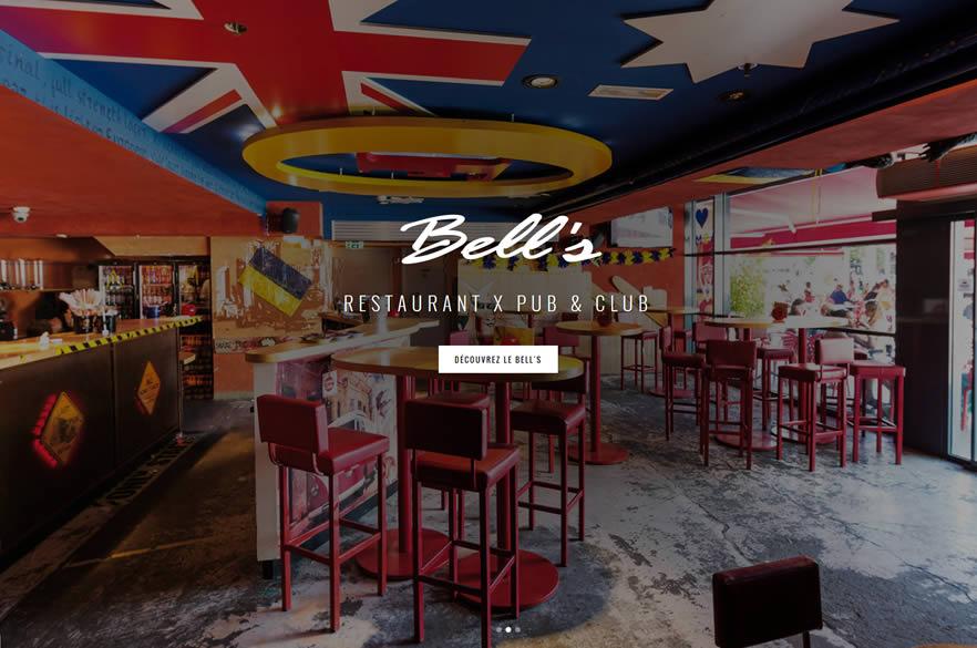 Le pub Bells à Clermond Ferrand