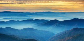 Les Blue mountains