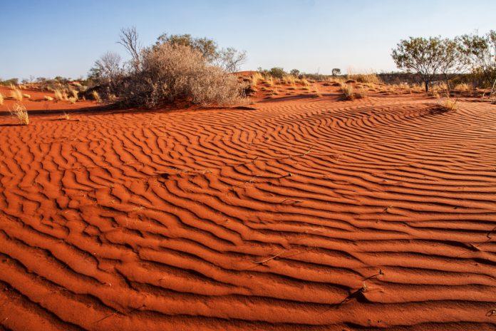 Désert de Western Australia