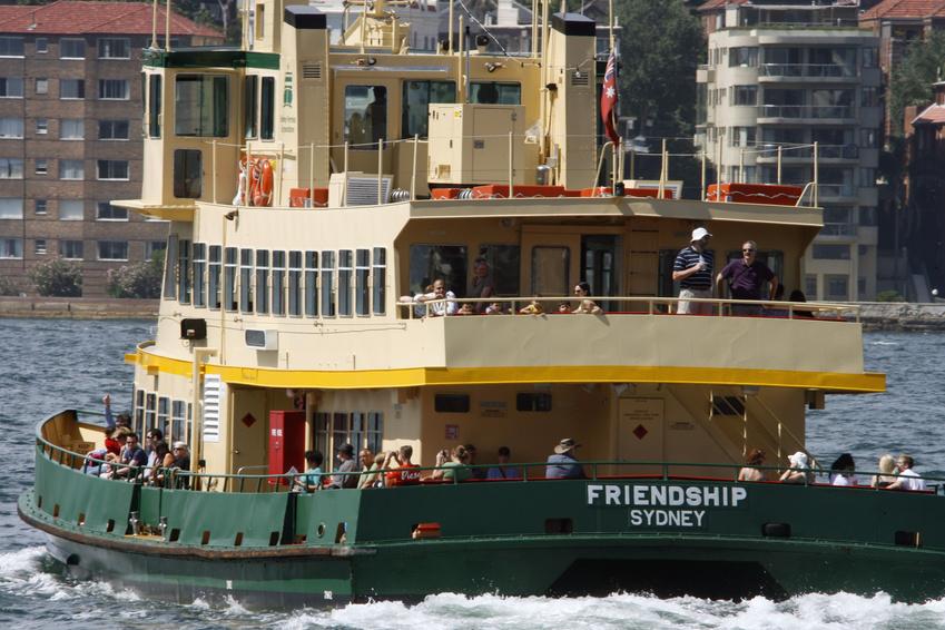 La ville de Sydney et le Harbour Bridge - Sydney - Australie