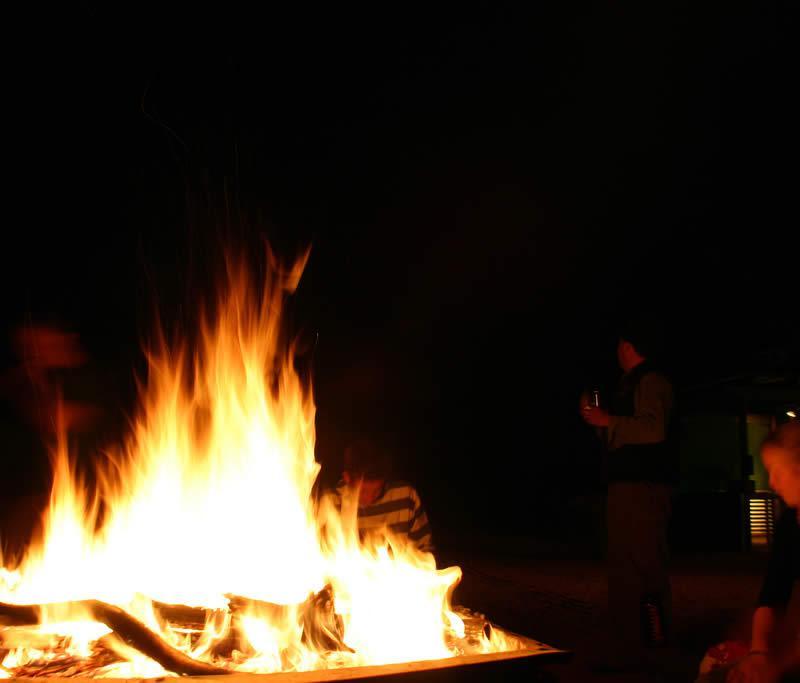 feu de camp Outback