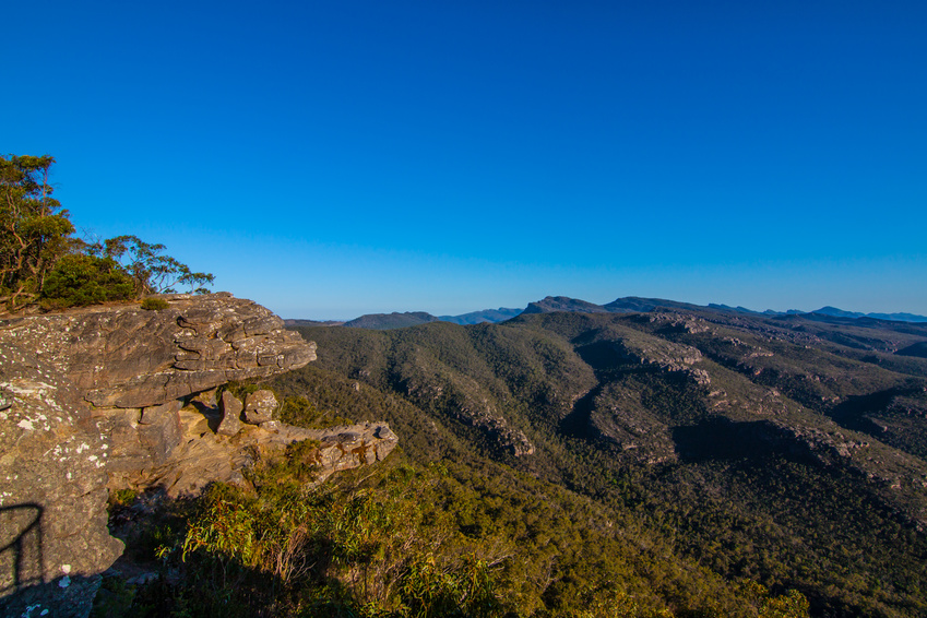 The Grampian national park in Victoria