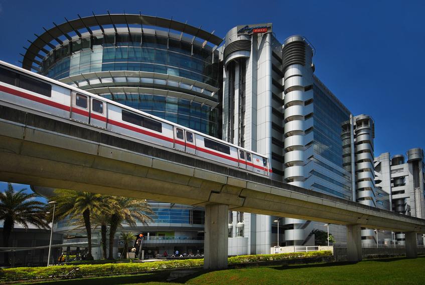 Le metro - Subway de Singapour