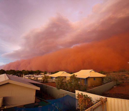Tempête de sable - Australie