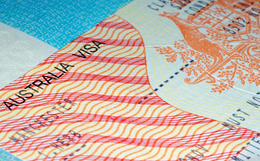 second year visa Australie