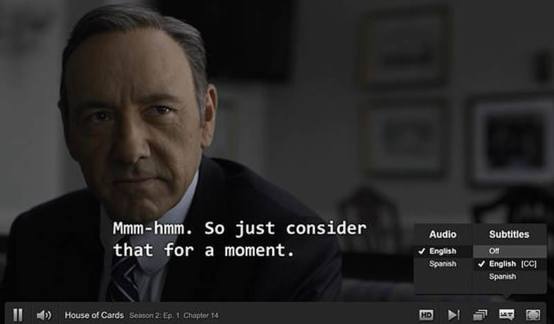 sous titre House of cards