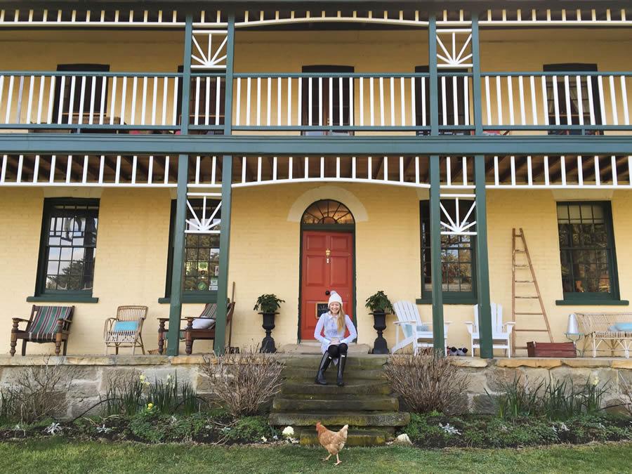 stanton bed and breakfast Tasmanie