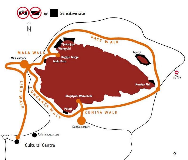 balades autour de Uluru -Ayers Rock