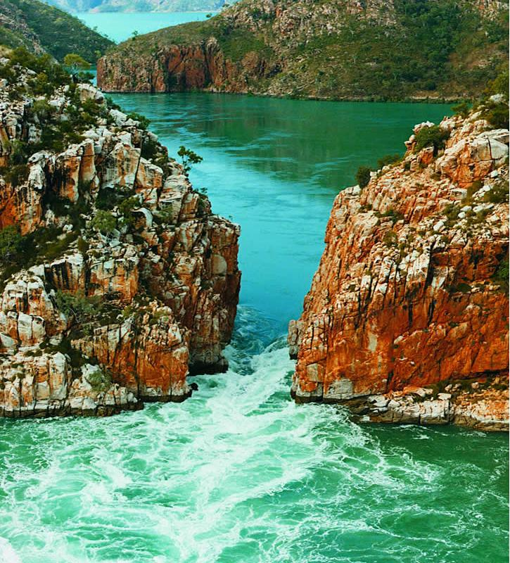 Horizontals falls- Kimberley - Australie