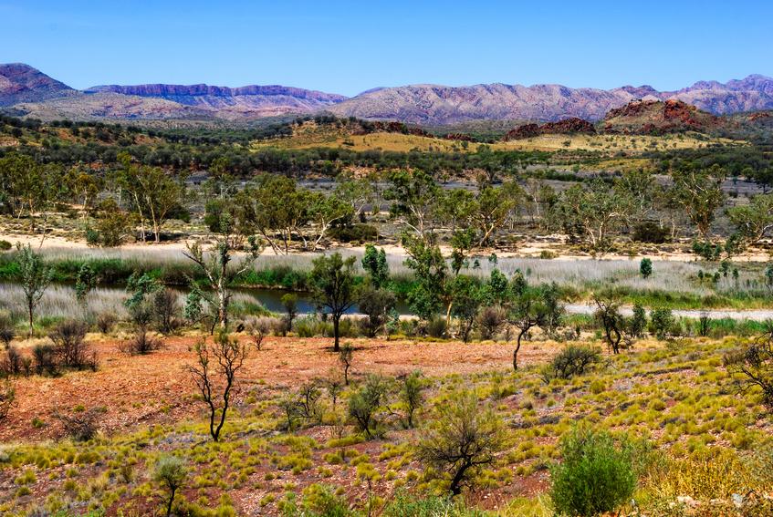 West Macdonnell Ranges Outback Australie