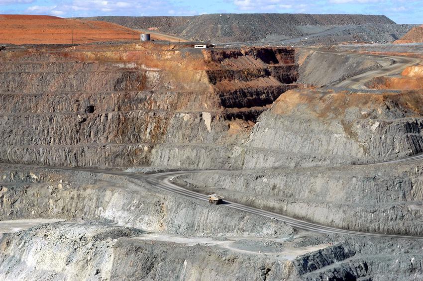 Super Pit, la mine à ciel ouvert la plus grande d'Australie