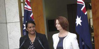 Aborigène au parlement