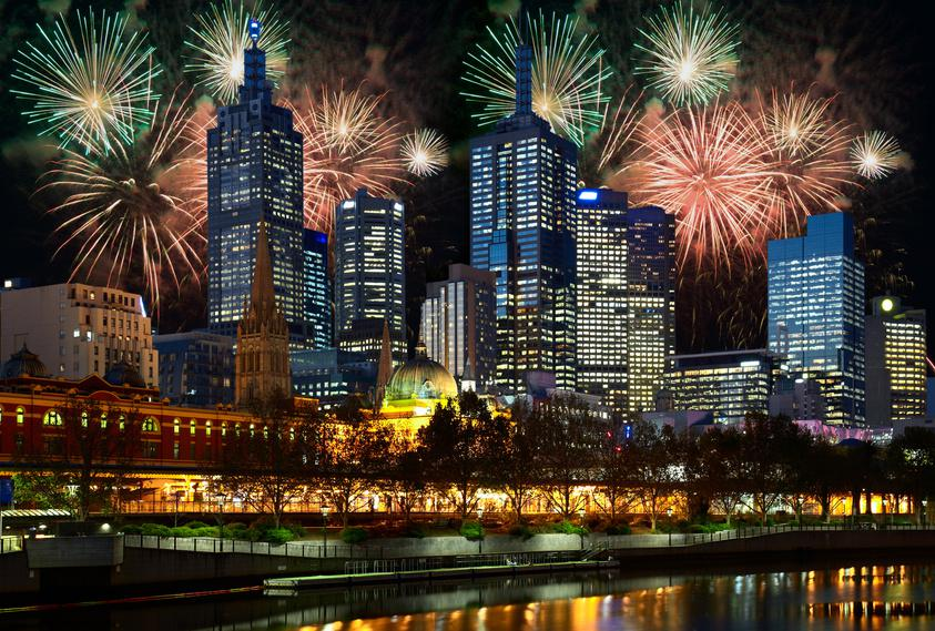 Happy New Year Melbourne