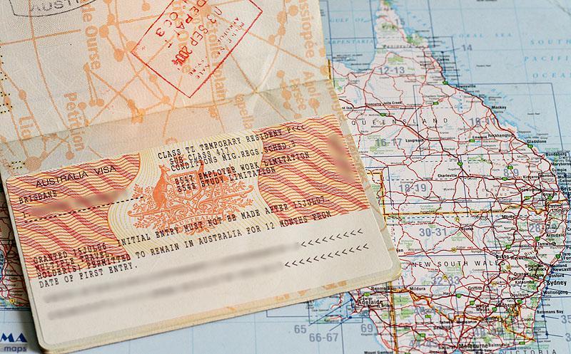 Départ en Australie