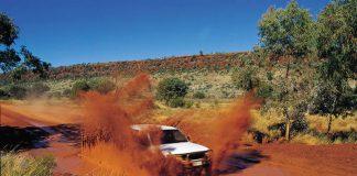 Conduite Outback Australie