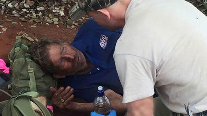Chasseur de dromadaires survit dans le Bush