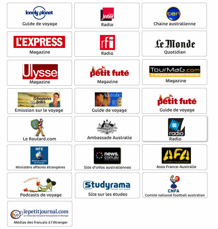 Page presse Australia-australie.com