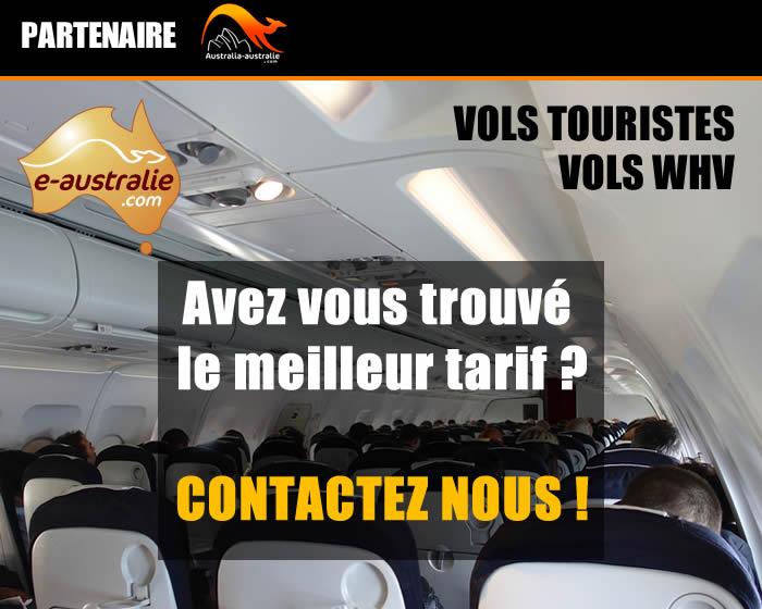 Vols Agence de voyage e-Australie