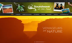Blog Sound Wave On the Road