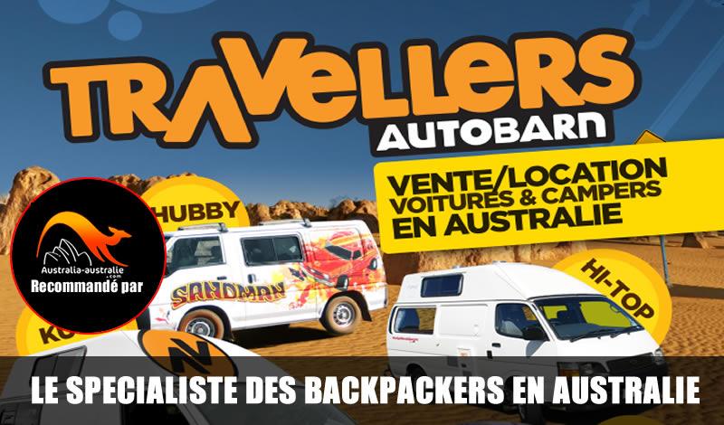 Traveller Auto Barn : location et vente véhicules en Australie