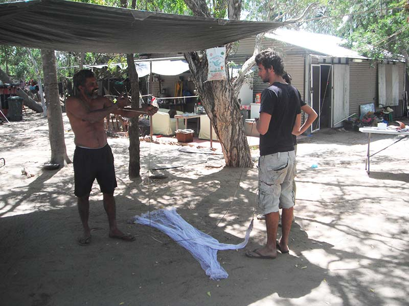 wwoofing aborigene
