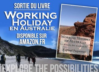 Livre working holiday visa en Australie