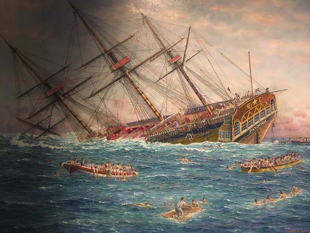 navire pandora