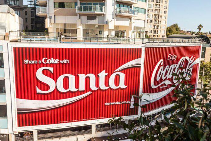 Enseigne Coca Cola King Cross