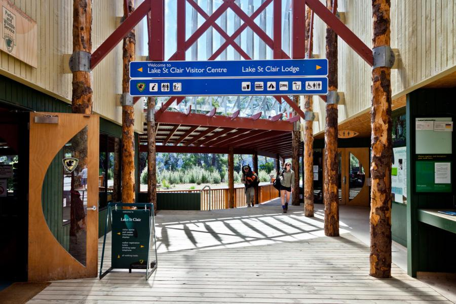 Lake Saint Clair visitor centre