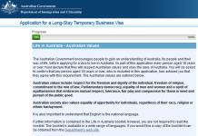 Formalités visa sponsorship