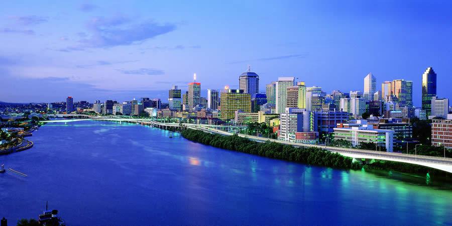La Brisbane River