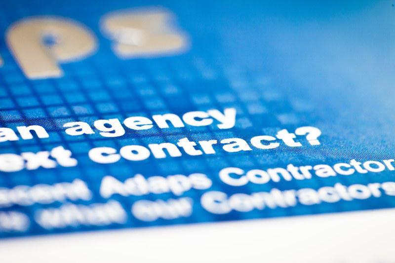 L'aboutissement, le contrat d'embauche
