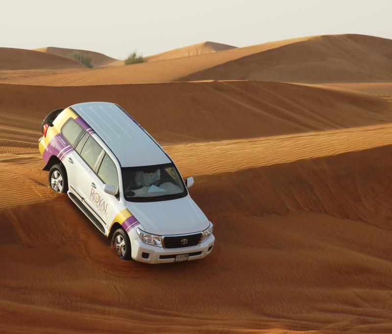A ne pas manquez si vous avez du temps: un safari dans le désert.